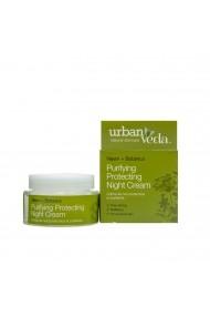 Crema de noapte protectiva cu ulei de neem pentru ten gras Purifying Urban Veda 50 ml