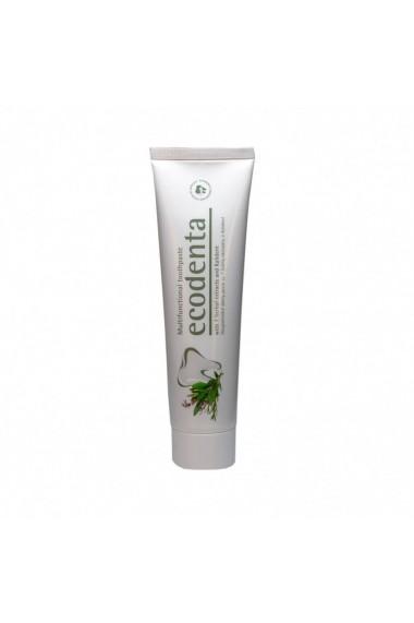 Pasta de dinti cu extract de 7 plante si Kalident Ecodenta 100ml
