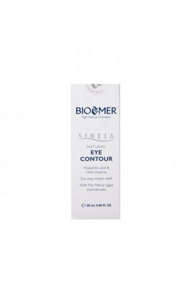 Crema contur de ochi cu Acid Hialuronic si extract de melc Sireia Bio Mer 20 ml