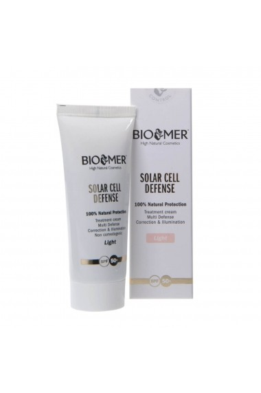Crema protectoare BIO SOLAR CELL DEFENSE +50 LIGHT Bio Mer 60ml