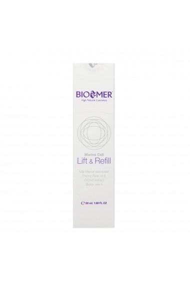 Crema tratament pentru tenul matur cu ulei de cactus si extract de orhidee Lift&Refill Bio Mer 50 ml
