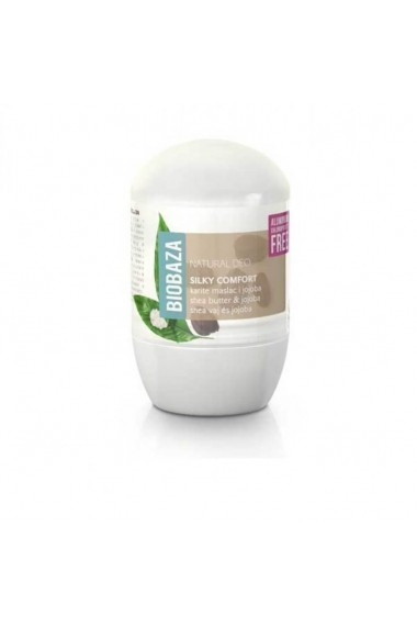 Deodorant natural pentru femei SILKY COMFORT (shea si jojoba) Biobaza 50 ml