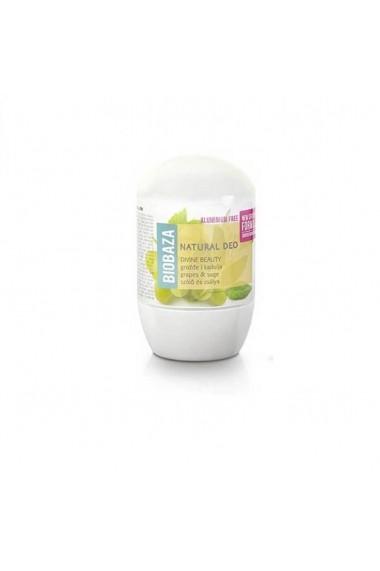 Deodorant cu bicarbonat piele sensibila DIVINE BEAUTY (salvie si struguri) Biobaza 50 ml