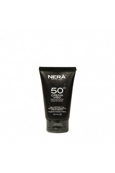 Crema de fata pentru protectie solara very high SPF50  Nera  50ml