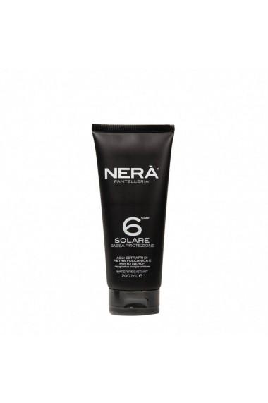Crema pentru protectie solara low SPF6  Nera  200 ml
