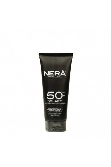 Crema pentru protectie solara very high  SPF50  Nera  200 ml