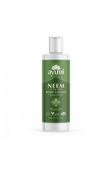 Lotiune de corp cu Neem & Tea Tree  Ayumi  250 ml