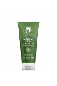Exfoliant pentru corp cu Neem & Tea Tree  Ayumi  200 ml