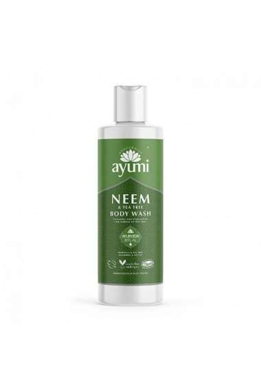 Gel de dus cu Neem & Tea Tree  Ayumi  250 ml