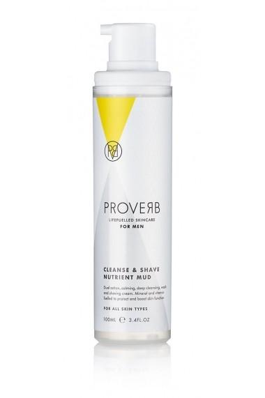 Crema nutritiva pentru barbierit si curatare  100ml  Proverb