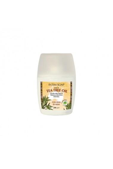 Sapun intim cu ulei de arbore de ceai  La Dispensa  250 ml