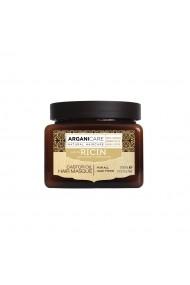 Masca reparatoare cu ulei de ricin pentru toate tipurile de par  Arganicare  500 ml