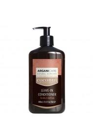 Balsam fara clatire cu ulei de cocos pentru par fara stralucire si foarte uscat  Arganicare  400 ml