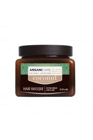 Masca ultra-hranitoare cu ulei de cocos pentru par subtire  deteriorat si casant  Arganicare  500 ml