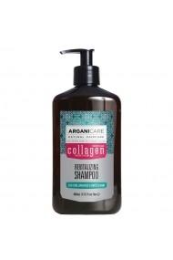 Sampon revitalizant cu colagen pentru par subtire  deteriorat si fragil  Arganicare  400 ml