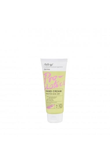 Crema de maini cu probiotice pentru piele sensibila KILIG DERMA 75 ml