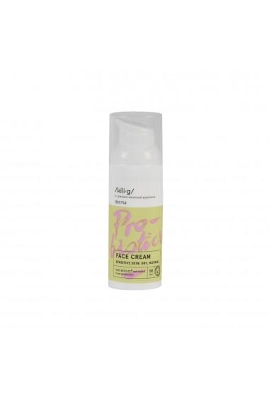 Crema de fata cu probiotice pentru ten sensibil  uscat si normal  KILIG DERMA  50 ml