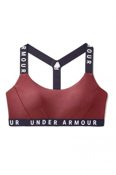 Bustiera sport Wordmark Strappy Sports Bra Roz