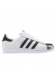 Tenisi femei Adidas Superstar Metal Toe Alb