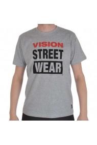 Tricou barbati Vision Street Wear Logo Tee Gri