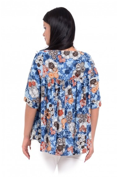 Bluza ampla V144 Eranthe Multicolor