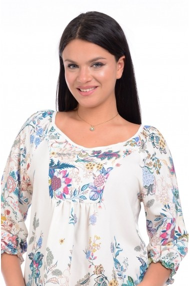 Bluza Eranthe Romance V141 Alb