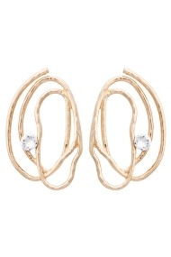 Cercei Calliope Gold-Crystal