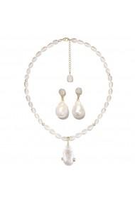 Set colier cu cercei perle baroque Venus