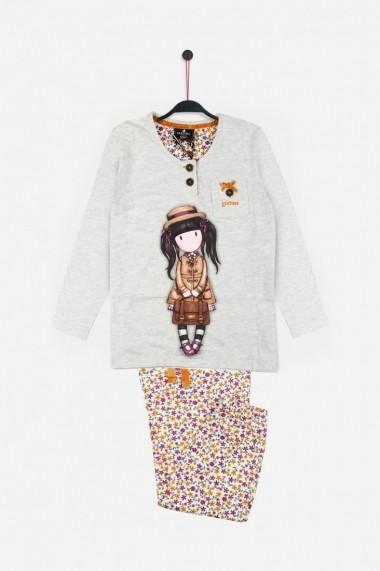 Pijama fete Santoro Gorjuss School Girl lunga