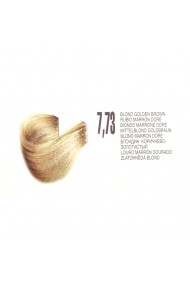 Vopsea de par organica permanenta Biokera Natura 7,73 Blond Maro Auriu 70ml