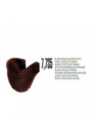 Vopsea de par organica permanenta Biokera Natura 7,735 Blond Ciocolata Brasil 70ml