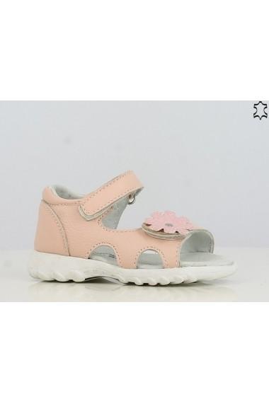 Sandale pentru fetite din piele naturala - Flower
