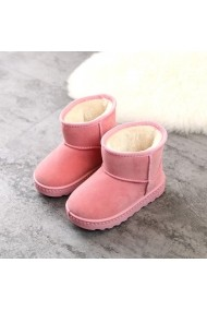 Cizme Superbebeshoes roz pentru fetite - Blanita MBcp1753-2-Roz