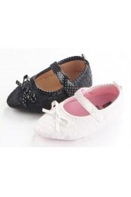 Pantofiori fetite albi si negri