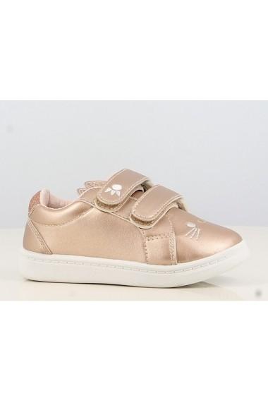 Pantofi sport aurii Pisicuta