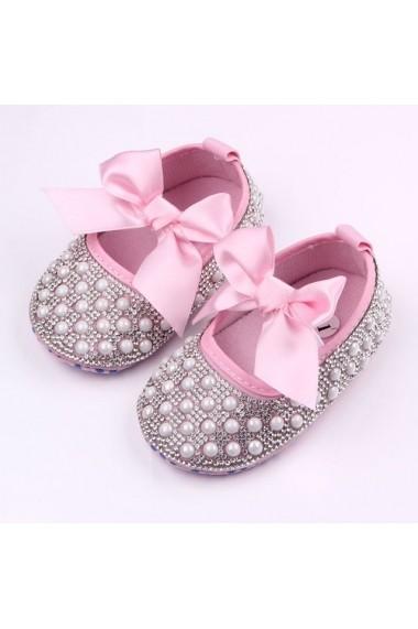 Pantofiori fetite cu perlute