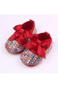 Pantofiori fetite cu perlute colorate