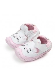 Pantofiori fetite albi - Pisicuta somnoroasa