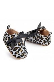 Pantofiori fetite - Leopardul argintiu
