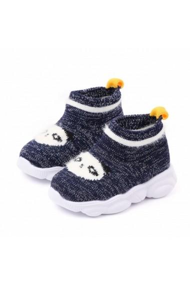 Mocasini tip adidas bleumarine - Panda