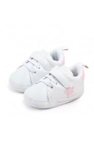 Adidasi bebelusi cu steluta roz