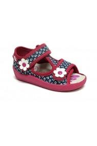 Sandalute albastre pentru fetite - Ancore