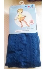 Dresuri - ciorapi bleumarine pentru fetite - 12-14 ani
