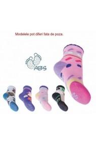 Sosete antiderapante cu silicon pentru fetite - Diverse Modele