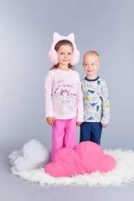 Pijama pentru fetite - Unicorn