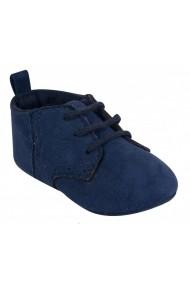 Pantofi bleumarine pentru bebelusi