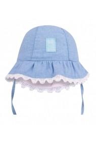 Palarie pentru bebelusi cu danteluta - Denim