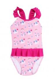 Costum de baie pentru fetite cu unicorni