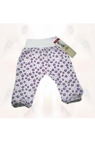 Pantalonasi cu botosei - Purple Flowers