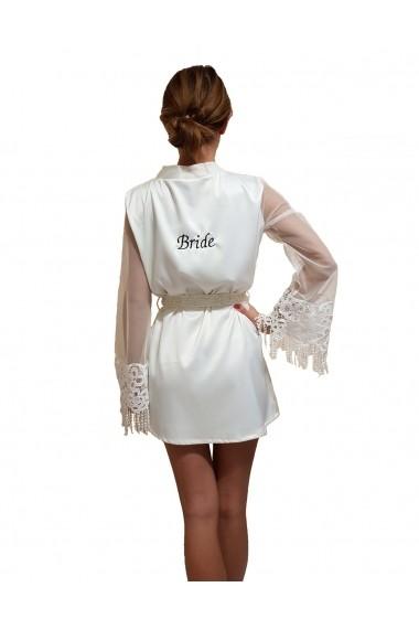 Halat bride Iasenti HB104 Alb